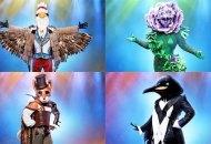 the-masked-singer-eagle-flower-fox-penguin