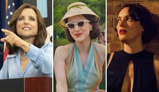 3-way tie for Comedy Series Emmy: 'Veep' vs  'Maisel' vs