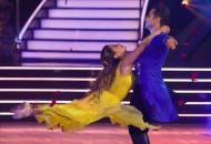 Ally Brooke and Sasha Farber on DWTS