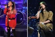 Ariana Grande and Billie Eilish