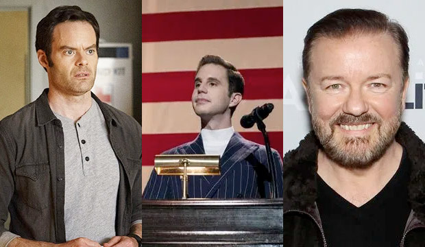 Golden Globes TV predictions: Editors divided over Best Comedy Actor — Bill Hader, Ben Platt or Ricky Gervais?