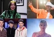 Billie Eilish, Lil Nas X, Jonas Brothers and Taylor Swift