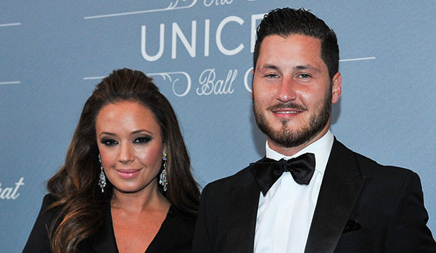 Val Chmerkovskiy is excited but 'a little nervous' for Leah Remini to guest-judge 'Dancing with the Stars' next week