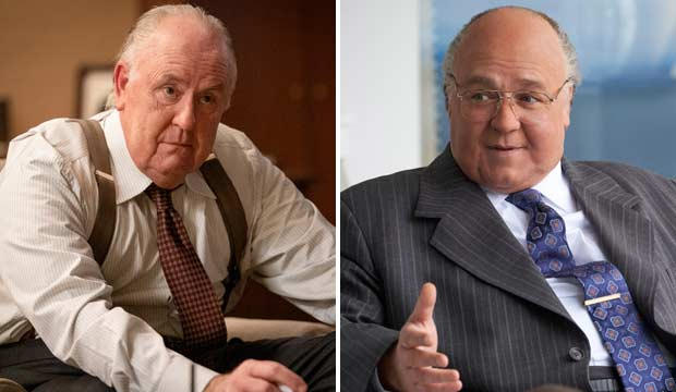 John Lithgow and Russell Crowe as Roger Ailes