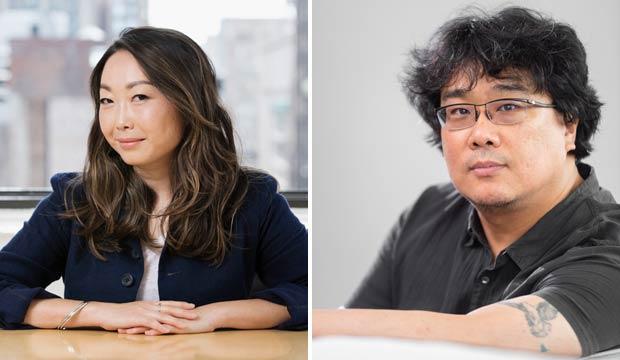 Lulu Wang and Bong Joon Ho