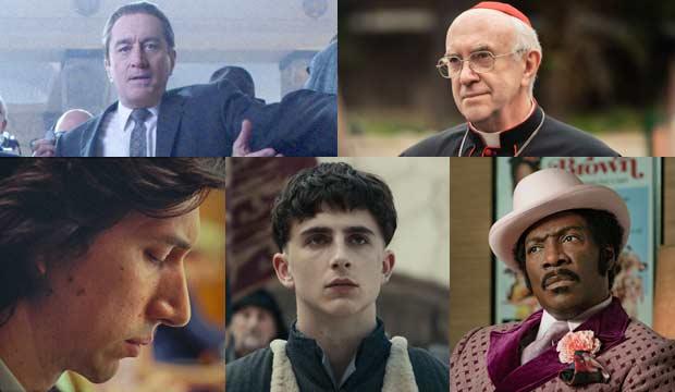 Oscar Nominations 2020 Best Picture.Netflix Oscar Sweep For Best Actor Robert De Niro Adam