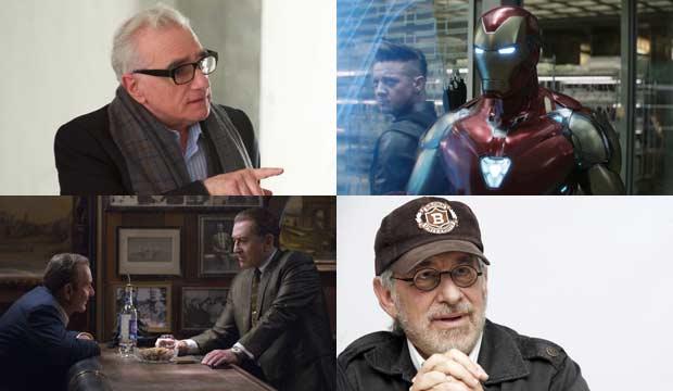 Martin Scorsese, Iron Man, Irishman and Steven Spielberg