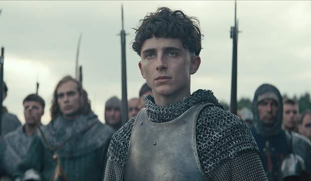 Timothee Chalamet in The King