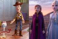 Toy Story 4; Frozen II