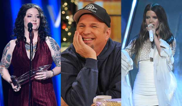 Ashley McBryde, Garth Brooks and Maren Morris