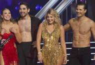 Hannah, Alan, Lauren and Gleb on DWTS