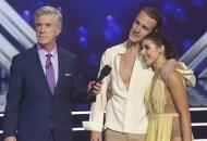 James Van Der Beek and Emma Slater on DWTS