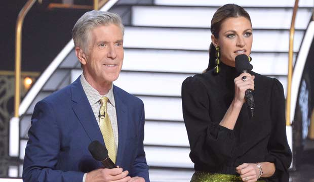 Tom and Erin host DWTS