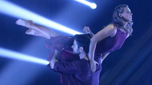 Hannah Brown's contemporary on DWTS