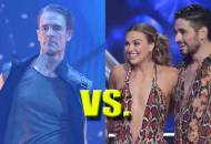 James Van Der Beek and Hannah Brown on DWTS
