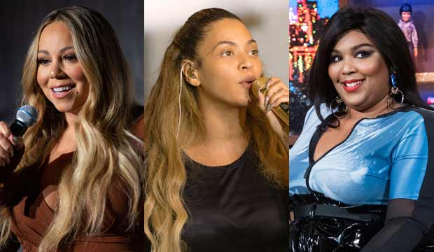 Mariah Carey, Beyonce and Lizzo