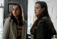 Ana de Armas and Katherine Langford in Knives Out