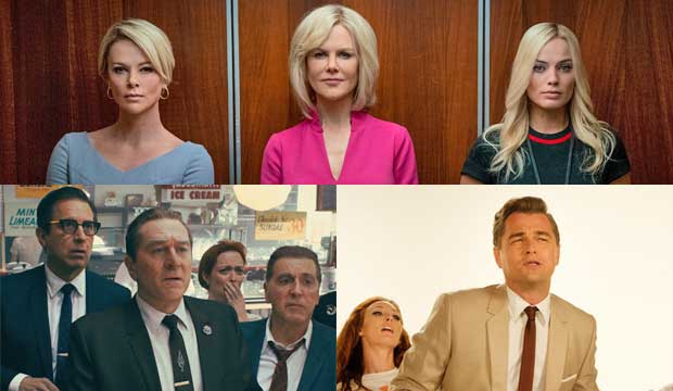 Bombshell, Irishman and Once Upon a Time in Hollywood
