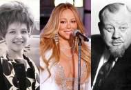Brenda Lee, Mariah Carey, Burl Ives