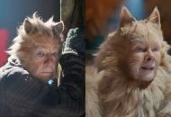 Ian McKellen and Judi Dench in Cats