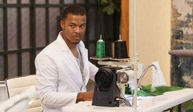 Delvin McCray on Project Runway