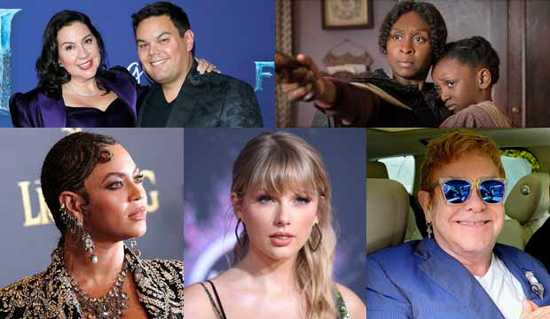Golden Globes best song: Beyonce, Taylor, Elton — oh my! And an EGOT champ and a possible future one!