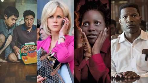 Parasite, Nicole Kidman, Lupita Nyong'o and Jamie Foxx