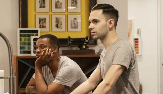 Delvin and Tyler on Project Runway