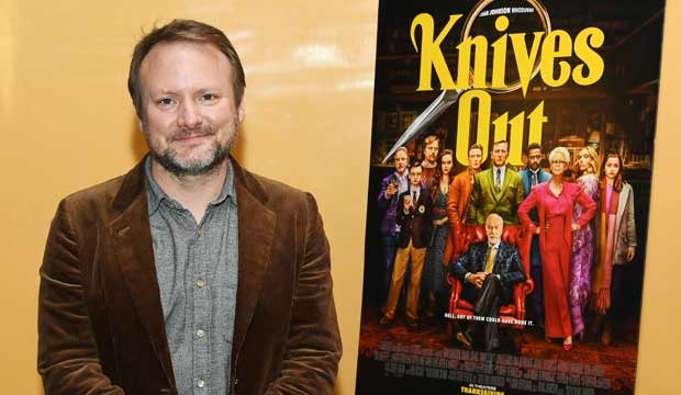 Rian Johnson at Knives Out event