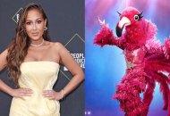 the-masked-singer-Adrienne-Bailon-flamingo