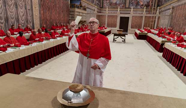 Jonathan Pryce in The Two Popes