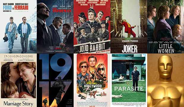 Image result for 2020 oscar nominations