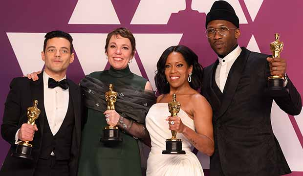 Oscar winners Olivia Colman, Rami Malek, Regina King, Mahershala Ali returning as presenters