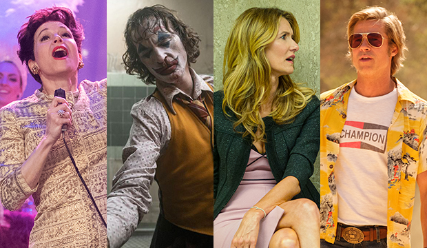 Oscar favorites Renee Zellweger, Joaquin Phoenix, Laura Dern and Brad Pitt poised to pull off the second acting sweep ever
