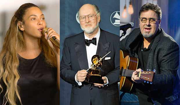 The 1999 Grammy Awards Deadline Room John Williams 24 Feb 1999 beyonce homecoming vince gill today show