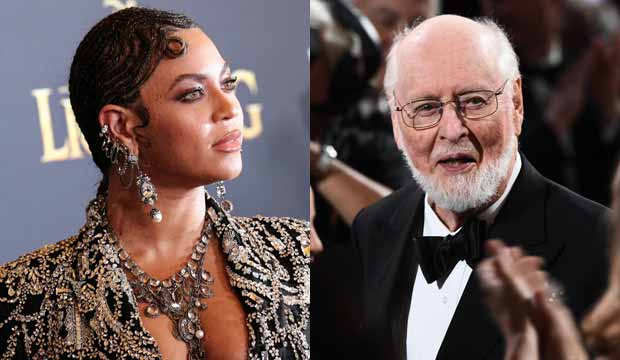 LION; KING; FILM; PREMIERE; ARRIVALS; DOLBY; THEATRE; LOS; ANGELES; USA; 09; JUL; 2019; BEYONCE; KNOWLES; Alone; Personality; 81888257; john williams