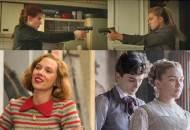 Scarlett Johansson and Florence Pugh, Black Widow, Jojo Rabbit, Little Women