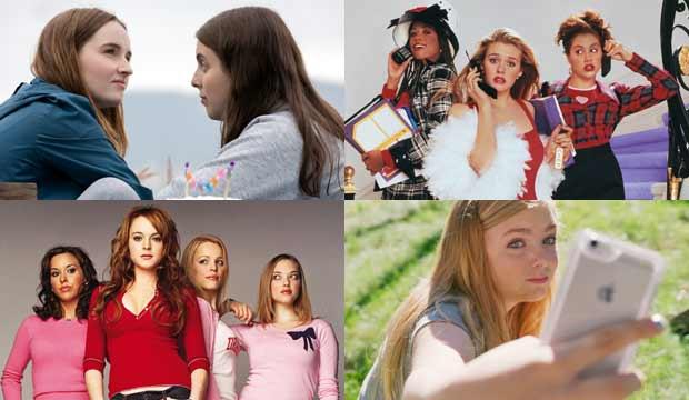 Booksmart, Clueless, Mean Girls, Eighth Grade