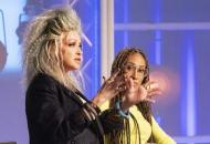 Cyndi Lauper on Project Runway