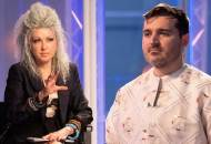 Cyndi Lauper and Sergio Guadarrama on Project Runway