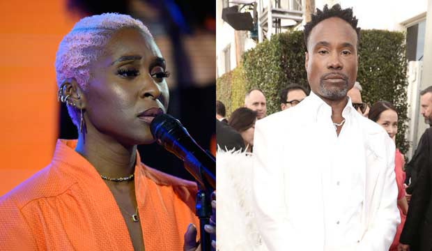 Cynthia Erivo on Today Show, Billy Porter at Golden Globes 2020