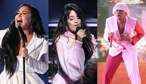 Demi Lovato, Camila Cabello, Tyler the Creator at Grammys 2020