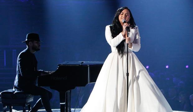 Demi Lovato Grammys 2020 performance