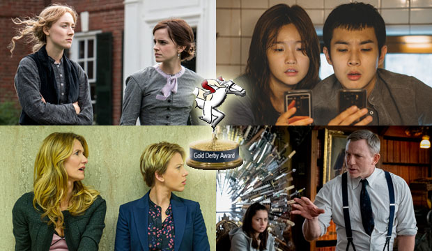 Little Women, Parasite, Marriage Story, Knives Out nominated for Gold Debry Film Awards