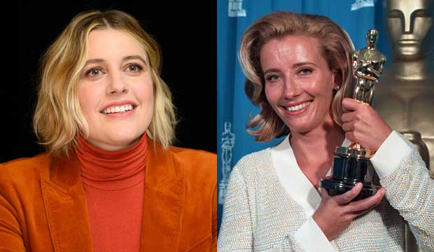 Greta Gerwig ('Little Women') would be the first woman since Emma Thompson to accomplish this Oscars feat