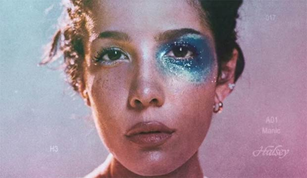 Halsey Manic album cover