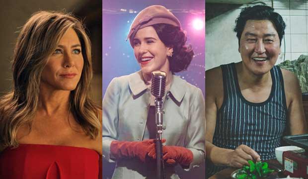Jennifer Aniston, Rachel Brosnahan, Song Kang Ho in Parasite