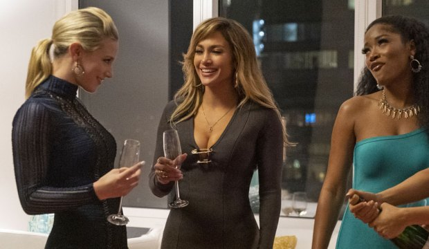 Lili Reinhart, Jennifer Lopez, Keke Palmer in Hustlers