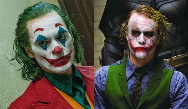 Joaquin Phoenix and Heath Ledger