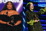 Lizzo and Billie Eilish at Grammys 2020